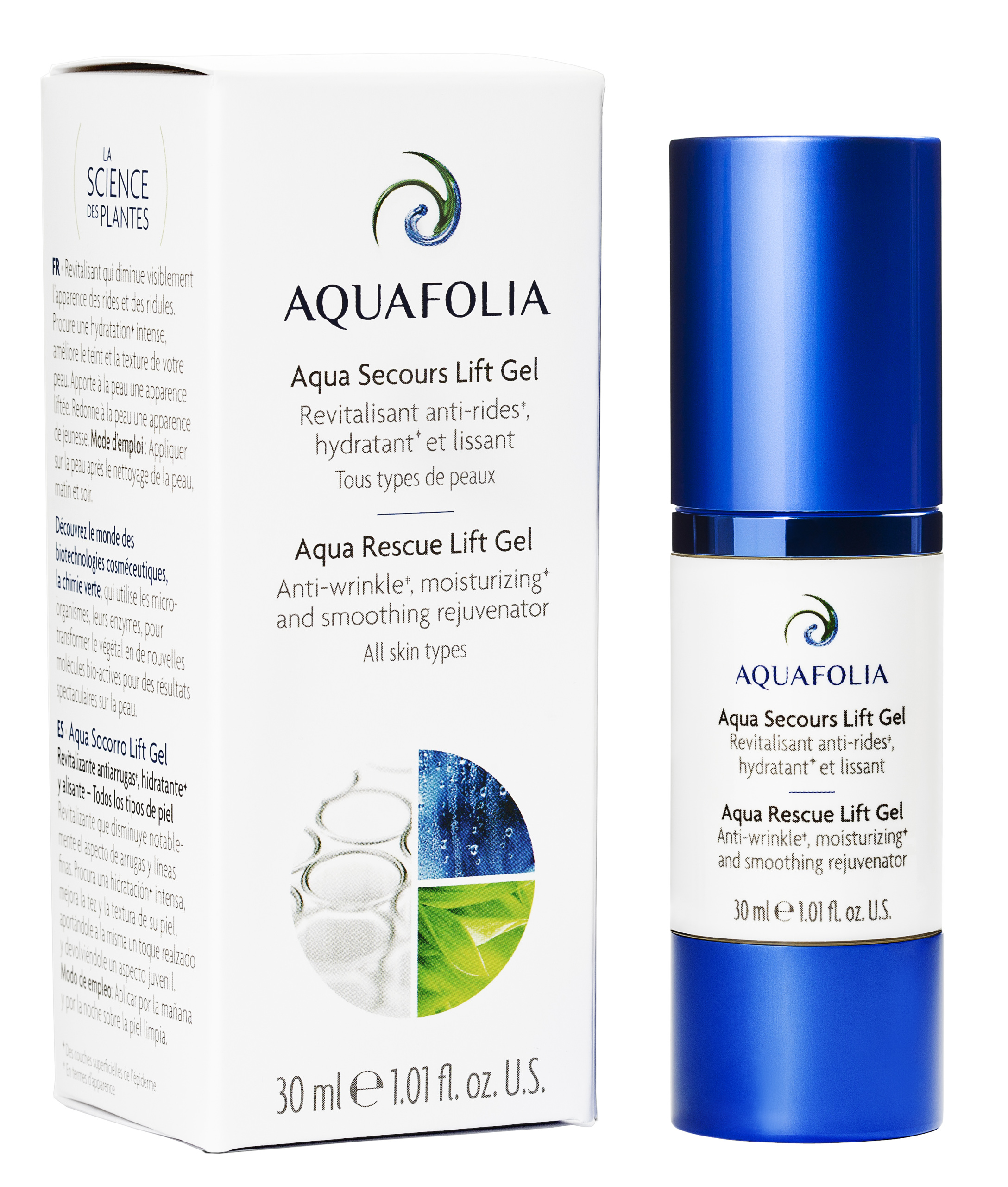 Aqua Folia Aqua Rescue Lift Gel - 60ml